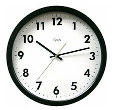 Equity by La Crosse Technology Black 14 Inch Commercial Wall Clock US Seller