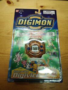 Bandai 1999 Digimon Virtual Pet Digivice D2 With Box and Manual
