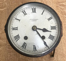 Vintage Rare J.C. Vickery clock Face & Mechanism Astral