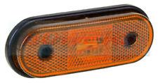 12 V 24 V Ovale Ambre DEL Side Marker Lampe comme Aspock UNIPOINT 1 camion remorque