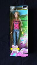 BARBIE SISTERS CAMPING BARBIE DOLL THE AMAZING CHASE LIFE IN DREAM HOUSE NIB