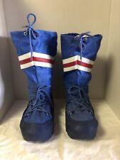 Moon Boots Vintage 1970's Waterproof Winter Snow Women's US 9 -10 No rips/tears