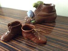 VINTAGE Ceramic SHOE / BOOT ORNAMENTS Bundle