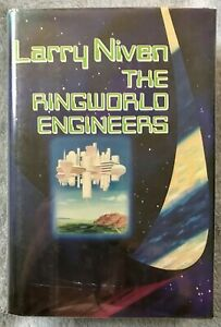 The Ringworld Engineers * Larry Niven * HC/DJ 1st/3rd Signed