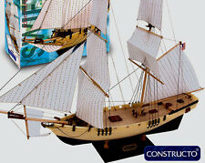 """New, beginner friendly wooden model ship kit by Constructo: the """"Swift"""""""