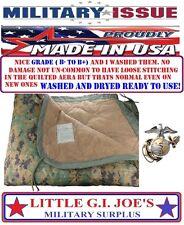 USMC Marine Issue Marpat Woodland Digital Camouflage Poncho Liner GRADE B- To B+
