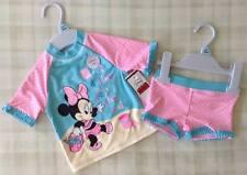 Baby Girls Disney Minnie Mouse ~ 2 Piece UPF/UV 50+ Sun Protection Swim Set 6-9m