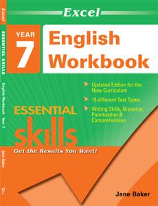 Excel Essential Skills - English Workbook Year 7