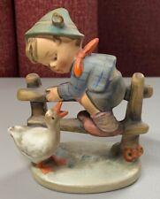Vintage Goebel Hummel Figurine # 195 Barnyard Hero Full Bee Tmk 2