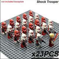 23 Pcs Minifigures Star Wars - Shock Trooper Commander Rex Stormtrooper Lego MOC