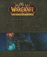 World of Warcraft Cataclysm Atlas BradyGames Book Good Condition Hardcover