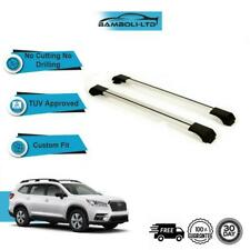 Fits SUBARU FORESTER 2014-2019 Roof Rack Cross Bars  Rails Alu GREY SET