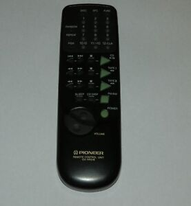 Pioneer CU-XR016 Hi Fi Remote Control Genuine Original