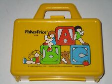 Fisher Price 1979 Plastic Lunch Box #638