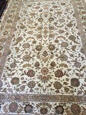 6' x 9' New Sino Chinese Floral Design Oriental Rug - Wool & Silk - Hand Made
