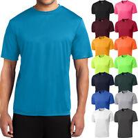 Big Mens Moisture Wicking T-Shirt Performance Dri Fit Gym Workout XL, 2X, 3X, 4X