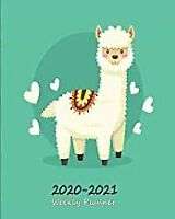 2020 - 2021 Weekly Planner: Alpaca & Llama Diary and Appoint BOOK(PAPERBACK)