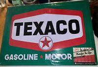 Texaco Motor Oil Gasoline  Nostalgic Tin Metal Sign BUNDLE COMBINE SHIPPING