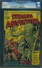 STRANGE ADVENTURES 10 CGC 3.5 Infantino Sachs Science Fiction Aliens 1951
