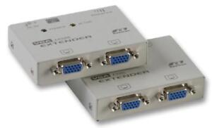 VGA CAT 5 EXTENDER Computer Products EV214 PACK 1