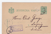 Serbia Belgrade 1894  stamped stationary post card R20342