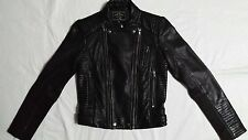 New Women LUCKY BRAND BIKER JACKET Size XS