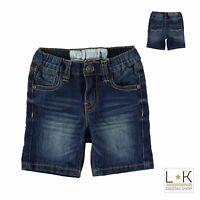 Bermuda di Jeans in Cotone Bambino Denim Sarabanda M835