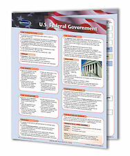 U.S. Federal Government - Political Science Quick Reference Guide