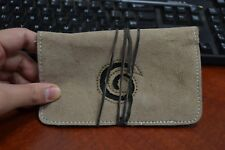 HANDMADE LEATHER TOBACCO PIPE POUCH BAG WALLET #A8