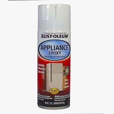 Rust-Oleum Appliance Epoxy White Spray Paint Hard Enamel Fridge Washing Machine