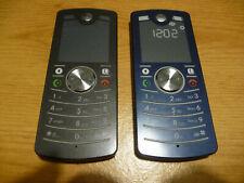 x2 Motorola F3 - Black & Blue Mobile Phone, Network unknown
