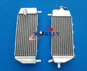L&R Aluminum Radiator For Yamaha YZ125 YZ 125 2005-2014 06 07 08 09 10 11 12 13
