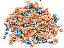 100 X Exotic Design Beads - Assorted Threading Jewellery Hair Braiding Fashion