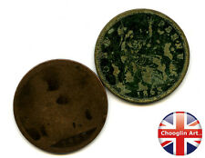 A pair of British Bronze 1863 VICTORIA PENNY Coins               (Ref:1863_66/7)