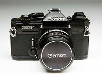 CANON EF + FD 50/1,8 S.C.