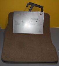 New Genuine OEM 1999-2000 Audi A6 Pair Of Tan Floor Mats 4B3-061-221-E-2LP