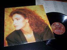 """Grazia Di Michele """"Le Ragazze Di Gauguin"""" LP inner WEA Italy 1987"""