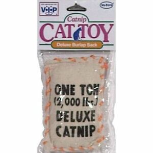 VOTOYS XPET DELUXE PILLOW CATNIP SACK CAT TOY. FREE SHIPPING TO THE USA