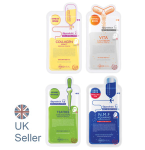 Korean face sheet mask, MEDIHEAL Essential Mask EX-3 multiple skincare UK Seller