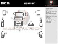 Fits Honda Pilot 2003-2004 NO Navigation Basic Wood Dash Trim Kit