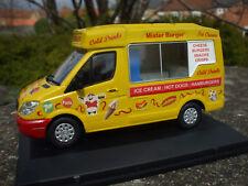 Code 3 'Softy Whipp' IceCream : Burger Van Oxford Diecast Mercedes 1/43 (superb)