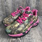 RealTree Girl Youth Miss Mamba Camo Sneaker Pink Sz 3.5M Athletic Outdoors Shoe