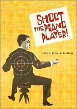 CRITERION COLLECTION: SHOOT THE PIANO PLAYER (2PC) - DVD - Region 1 - Sealed