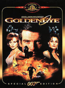 GoldenEye (Special Edition) DVD, Alan Cumming, Gottfried John, Robbie Coltrane,