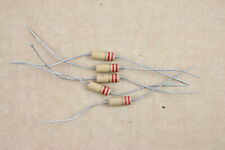 Lot of 5 Unbranded 2.2uH Inductor Vintage Axial Choke Filter Radio Component NOS