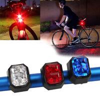 Cycling Bike Bicycle LED Back Rear Tail Light Lamp Safety Flashing Warning Red