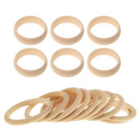 """White Plastic Rings 10/"""" Diameter 3//4/"""" Wide LOT OF 20 Macrame Bangles Teether Toy"""