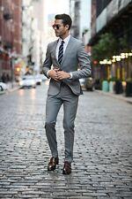 New Arrival Men's 2 Piece Wedding Groom Tuxedos Best Man Groomsman Party Suits