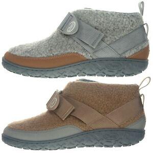 Chaco Sample Men's Ramble Fluff Indoor Outdoor Slipper Boots Booties US 9