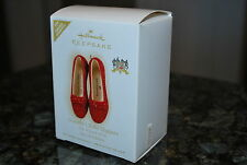 2009 Hallmark Dorothy's Ruby Slippers Wizard of Oz Limited Keepsake ornament